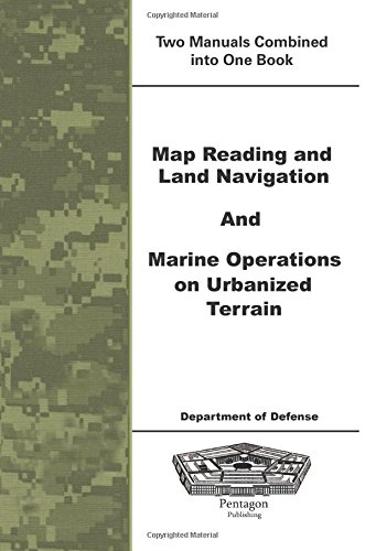 9781601704337: Map Reading and Land Navigation and Marine Operations on Urbanized Terrain