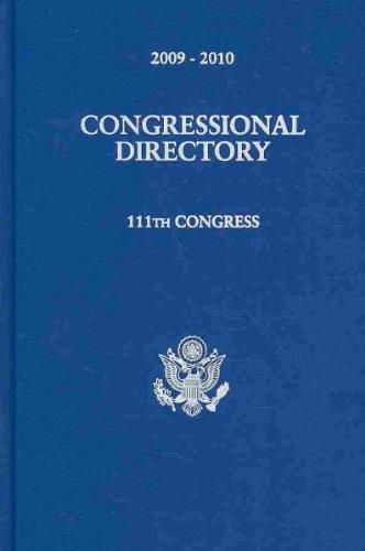 Official Congressional Directory 2009-2010: 111th Congress : Convened January 6, 2009: Joint ...