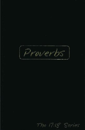 9781601781390: Proverbs: Journible the 17:18 Series (Journibles: the 17:18 Series)