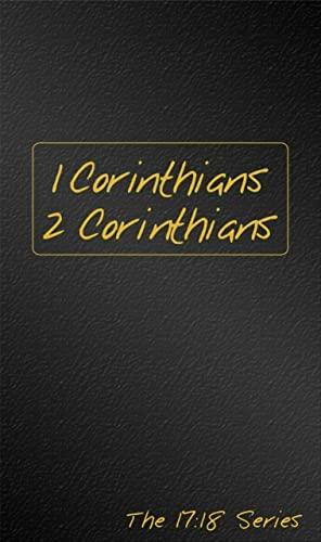 1 2 Corinthians Journibles the 1718: Robert J. Wynalda