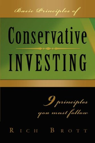 9781601850188: Basic Principles Of Conservative Investing