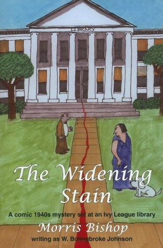 THE WIDENING STAIN: A Comic 1940s Mystery Set at an Ivy League Library