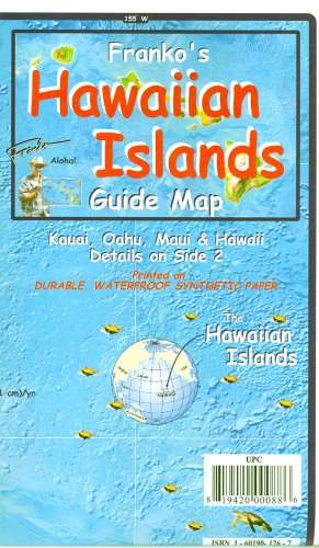 Franko's Hawaiian Islands Guide Map
