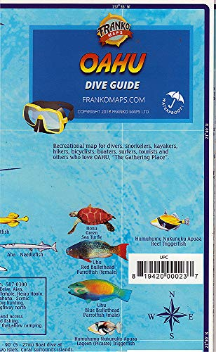 Franko's Dive Map of Oahu: Frank Nielsen