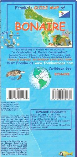 Franko's Guide map of Bonaire: Franko's Maps