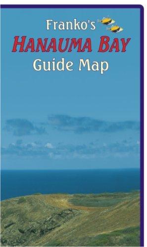 9781601902733: Hanauma Bay Oahu Guide Franko Maps Waterproof Map