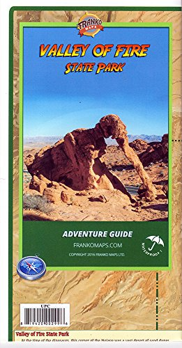9781601902993: Valley of Fire State Park (Nevada) Adventure Guide and Map