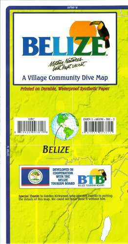 9781601903815: Franko's Map of Belize