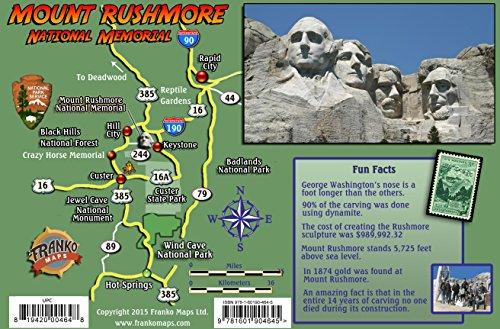9781601904645: Mount Rushmore Guide Laminated Card