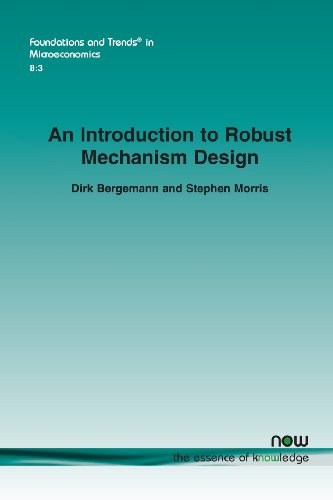 An Introduction to Robust Mechanism Design: Stephen Morris