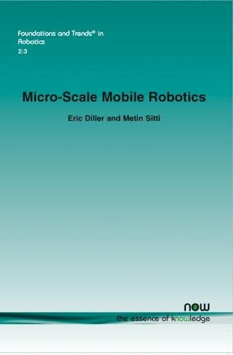 9781601987105: Micro-Scale Mobile Robotics (Foundations and Trends(r) in Robotics)