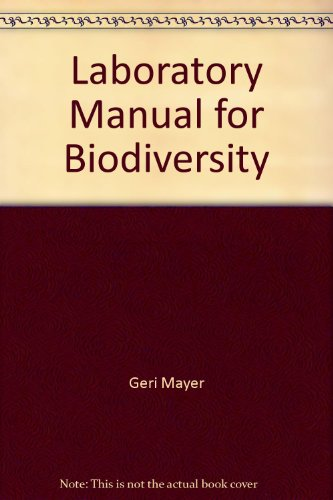 9781601990143: Laboratory Manual for Biodiversity