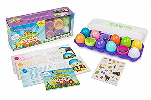9781602003927: Resurrection Eggs: Open Up the Wonder of Easter [With Egg Carton, 12 Plastic Eggs with Surprises Inside and Bilingual Storybook]