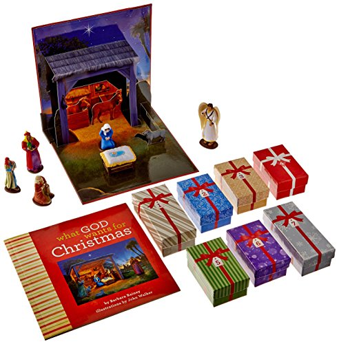 What God Wants For Christmas: An Interactive Nativity for Children (Book and CD): Rainey, Barbara