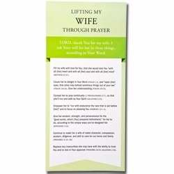 Lifting My Wife Through Prayer Cards (NEW): Family Life