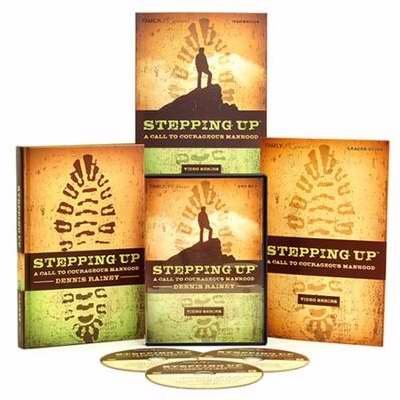 9781602007888: Stepping Up: A Call To Courageous Manhood Video Series w/3 DVDs