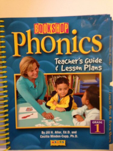 9781602011366: Bookshop Phonics, Teacher's Guide & Lesson Plans, Grade 1