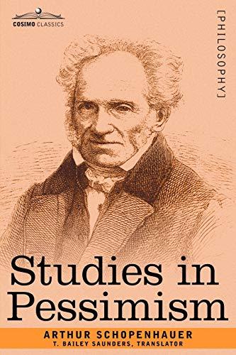 9781602063495: Studies in Pessimism