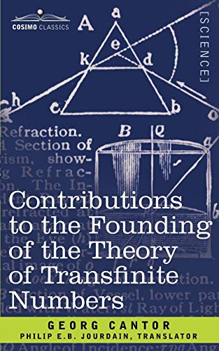 9781602064423: Contributions to the Founding of the Theory of Transfinite Numbers