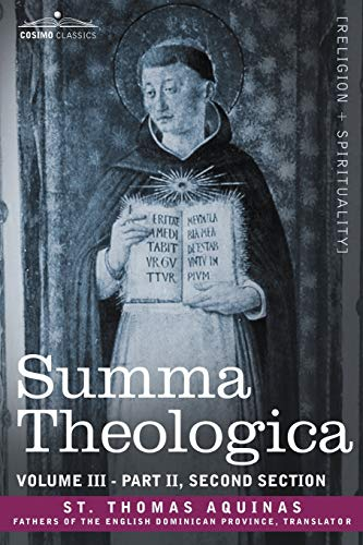 9781602065574: Summa Theologica, Volume 3 (Part II, Second Section)