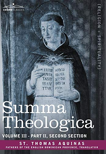 9781602065581: Summa Theologica, Volume 3 (Part II, Second Section)