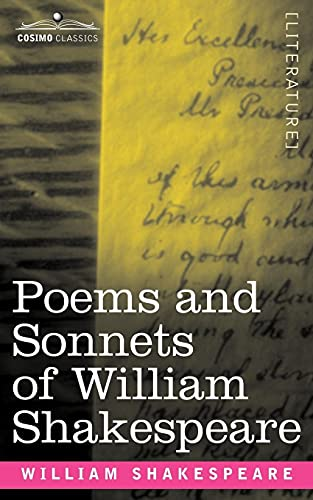 9781602067790: Poems and Sonnets of William Shakespeare