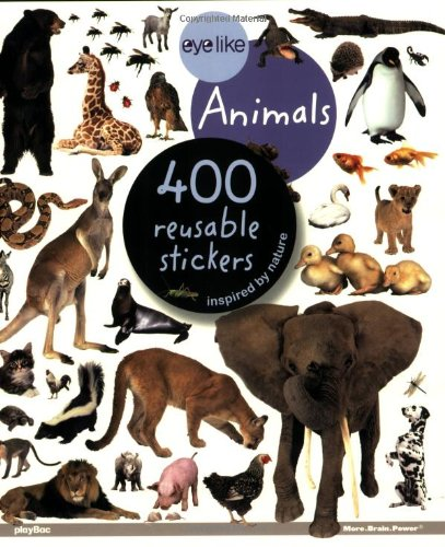 9781602140684: Eye like Stickers: Animals