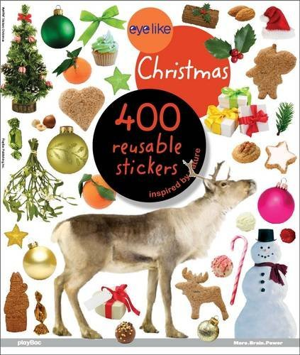 9781602141278: Christmas: 400 Reusable Stickers (Eyelike Stickers)