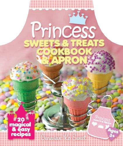 Princess Sweets & Treats Cookbook & Apron: Sweet, Genevieve Ko