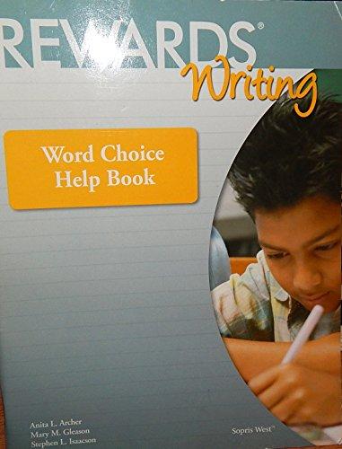Rewards Writing (Word Choice Help Book)