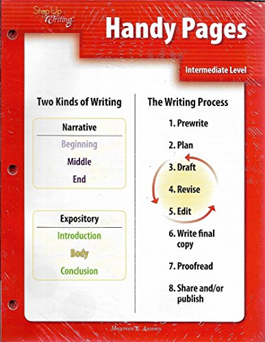 9781602181670: Step Up to Writing Intermediate Handy Pages (set of 10)