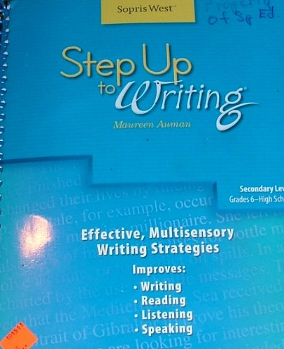 Step Up to Writing (Secondary Level Grades: Auman, Maureen