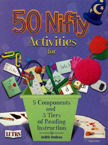 9781602182059: 50 Nifty Activities for 5 Components and 3 Tiers of Reading Instruction
