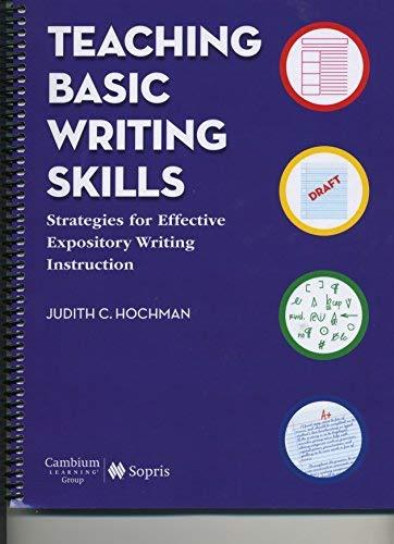 9781602185012: Teaching Basic Writing Skills: Strategies for Effective Expository Writing Instruction