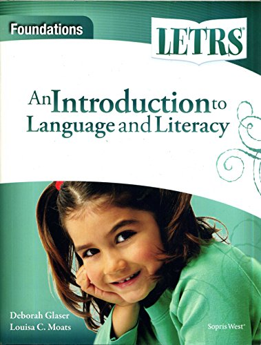 9781602186095: An Introduction to Language and Literacy