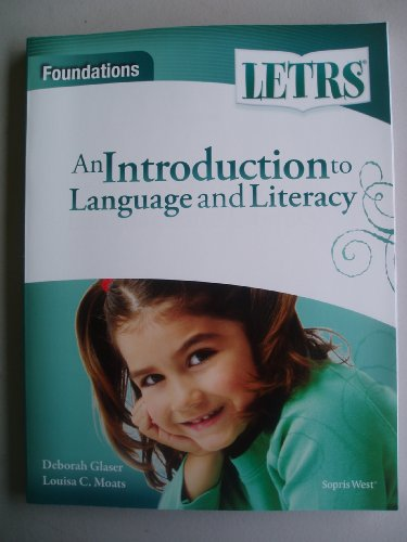 9781602186101: Letrs Foundations Book with Dvd of Videos