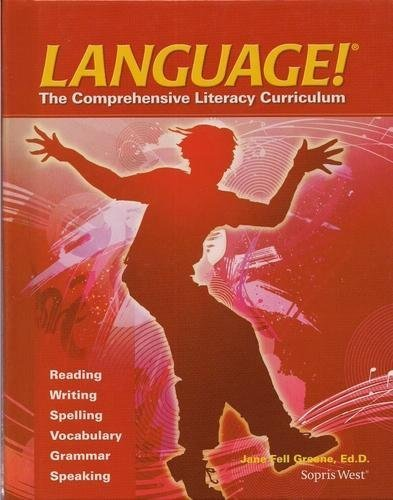 9781602186958: Language! The Comprehensive Literacy Curriculum (Book E)