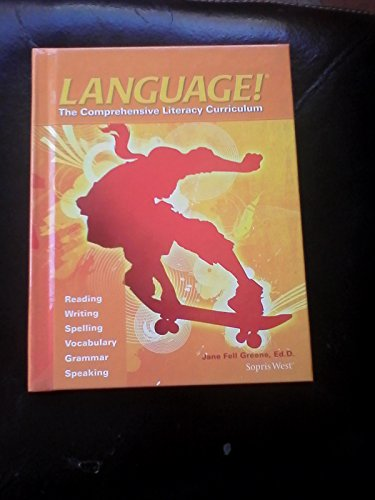 9781602187450: Language! The Comprehensive Literacy Curriculum