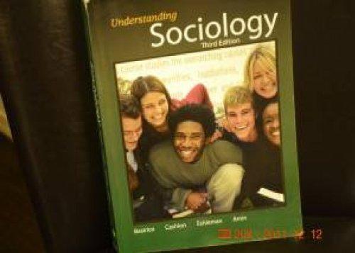 9781602293236: understanding sociology