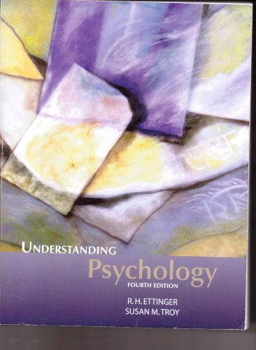 Understanding Psychology: R.H Ettinger. Susan
