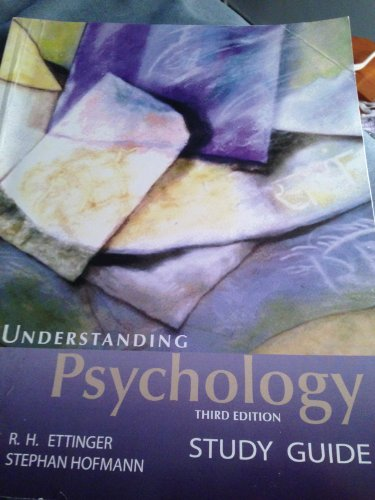 9781602295438: Understanding Psychology Study Guide - 3rd (Third) Edition