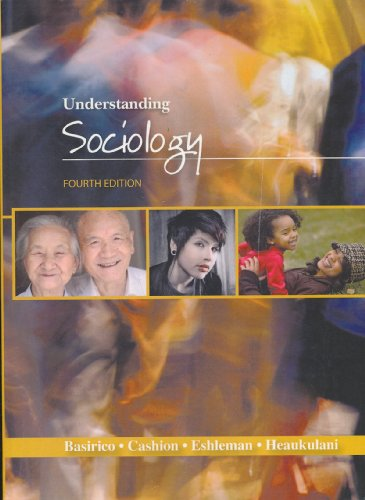 9781602295582: Understanding Sociology - Fourth (4th) Edition