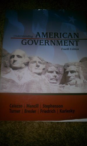 9781602296893: Understanding American Government Fourth Edition