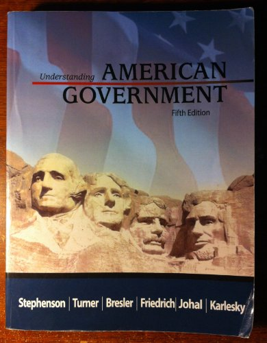 9781602298699: Understanding American Government - 5th Edition