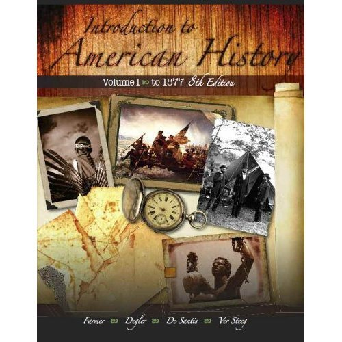 9781602298767: Introduction to American History Vol 2 8/e