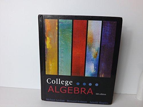 9781602298774: College Algebra 6/e