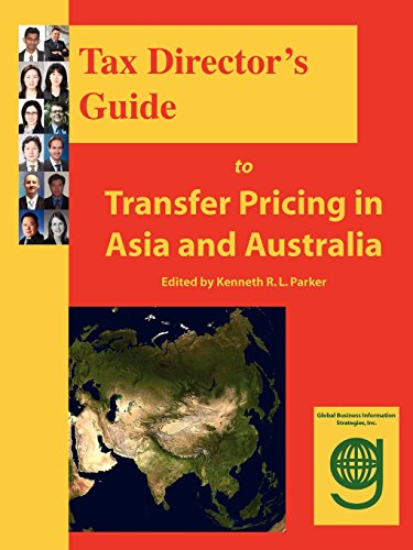 Tax Directors Guide to Transfer Pricing in Asia and Australia: Joanna Lam