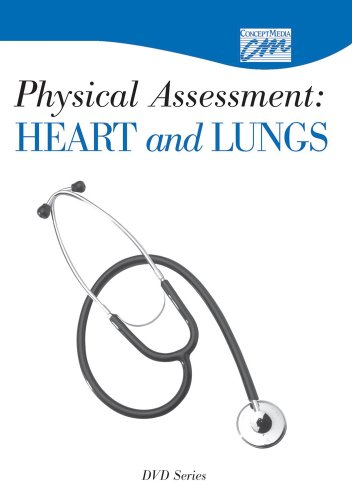 Physical Assessment: Heart and Lungs: Complete Series (DVD) (DVD Sereis): Concept Media