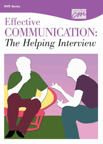 9781602322967: The Helping Interview: Enhancing Therapeutic Communication: Complete Series (DVD) (Communication and Leadership)