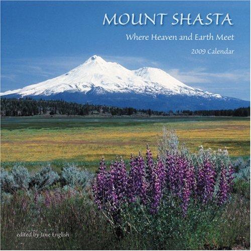 9781602370852: Mount Shasta 2009 Wall Calendar